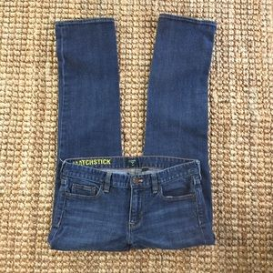 J. Crew Women's Matchstick Jeans Size 29